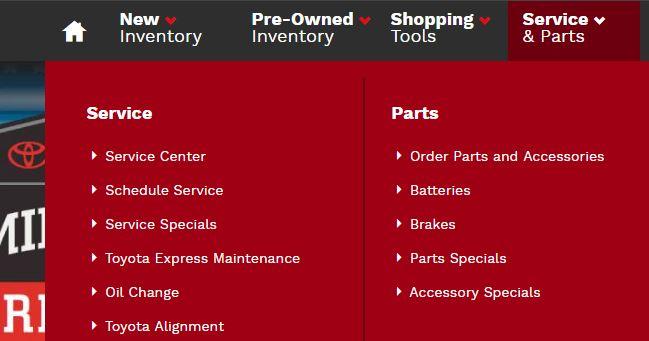 Automotive SEO Checklist - site organization